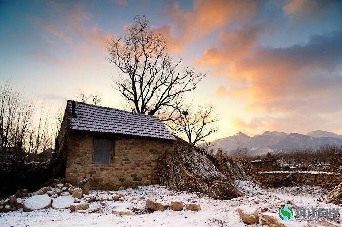 寒潮里,一个老人的两场雪